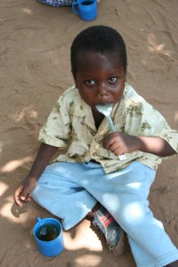 A child supported by Ripple Africa