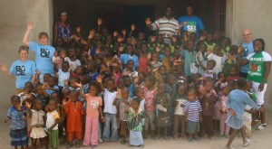 School Children at Favour Preparatory Nursery School